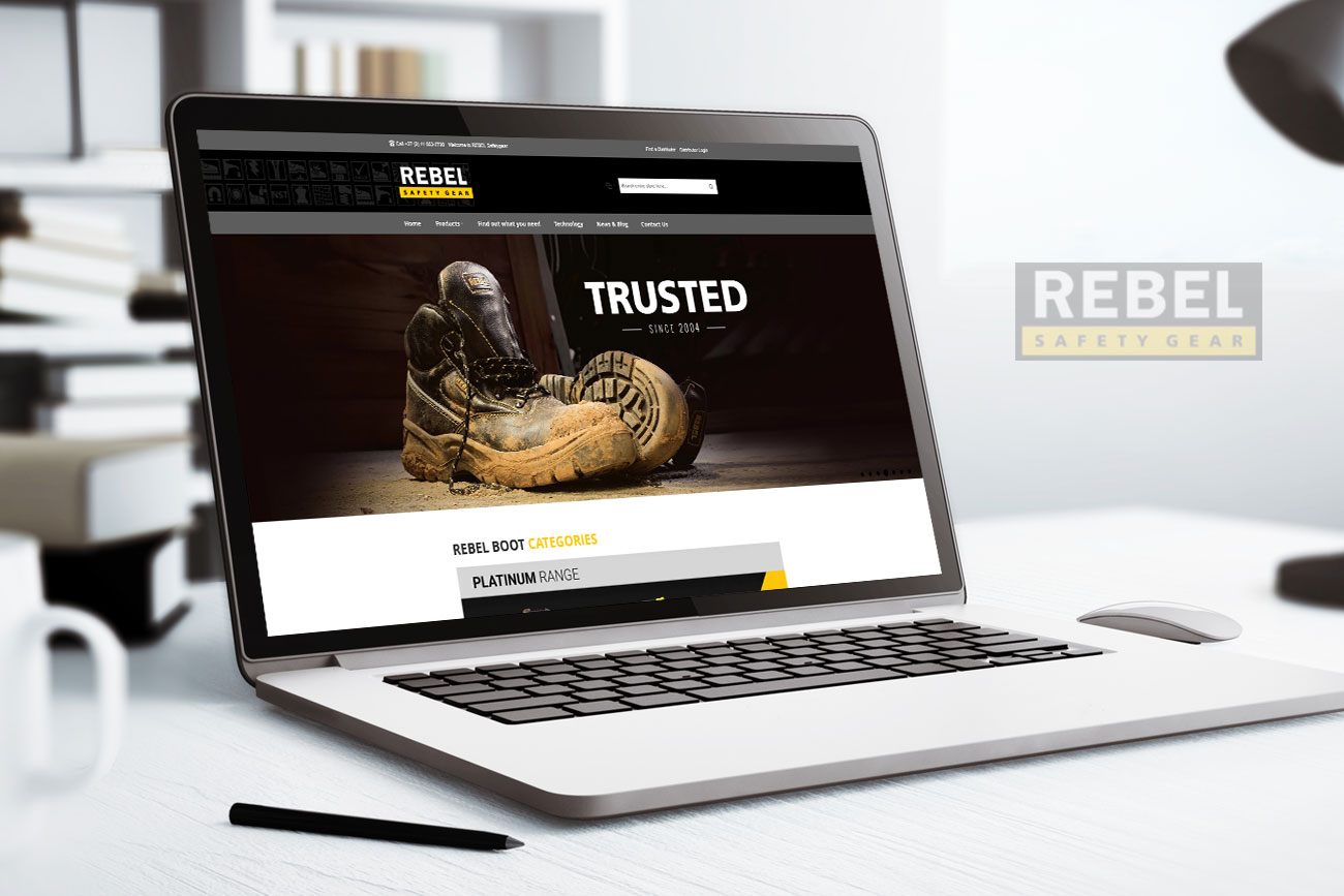 Rebel Safety Gear | Website Development
