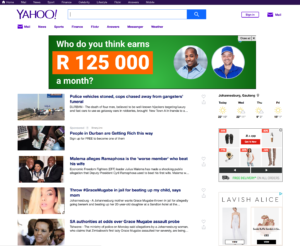 Yahoo practical reasons for white space