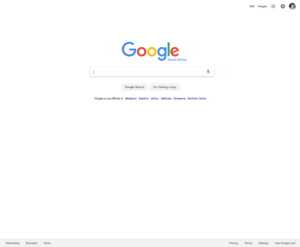 Google practical reasons for white space