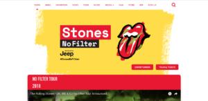 Rolling Stone website screenshot