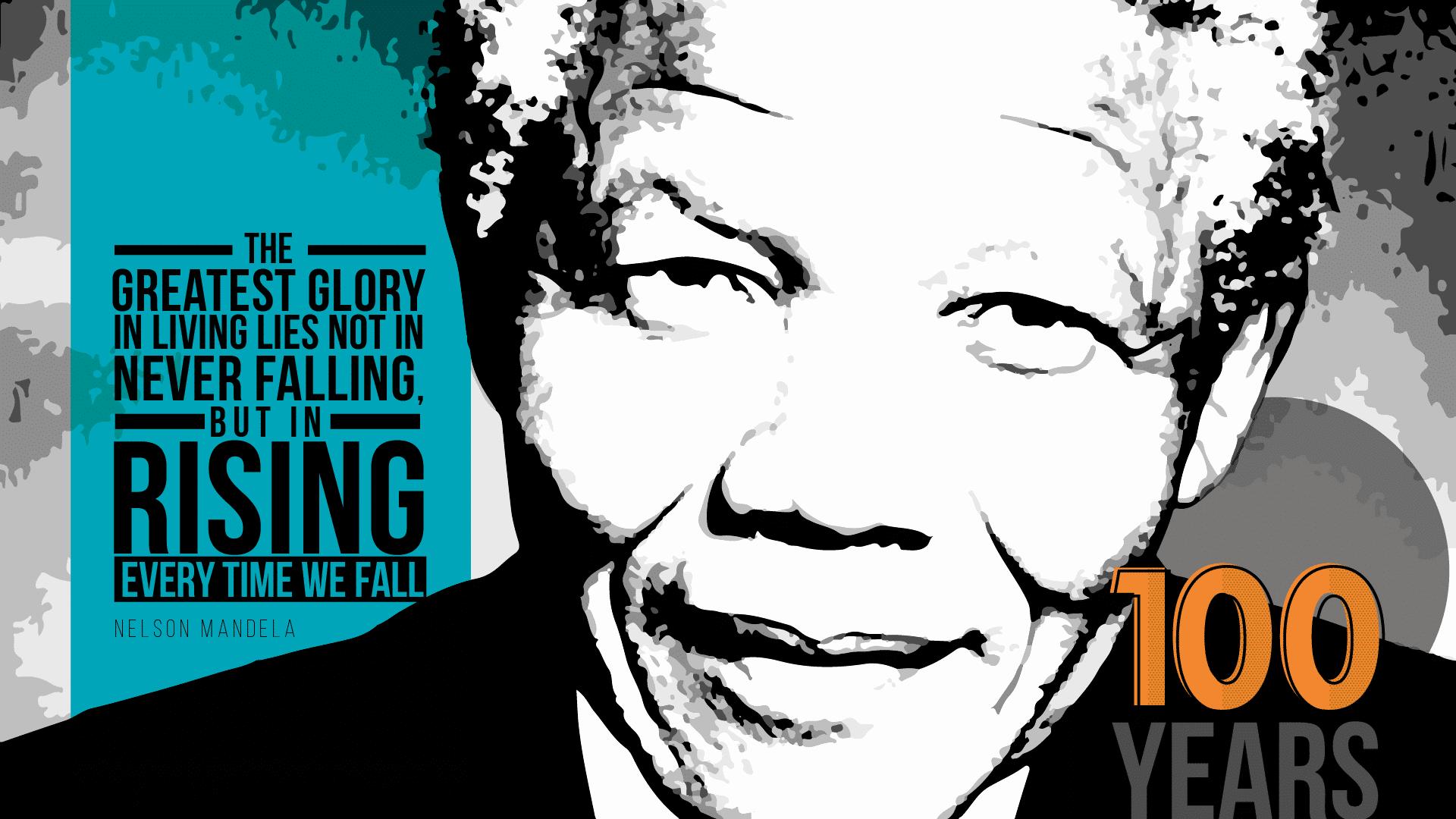Nelson Mandela July Wallpaper
