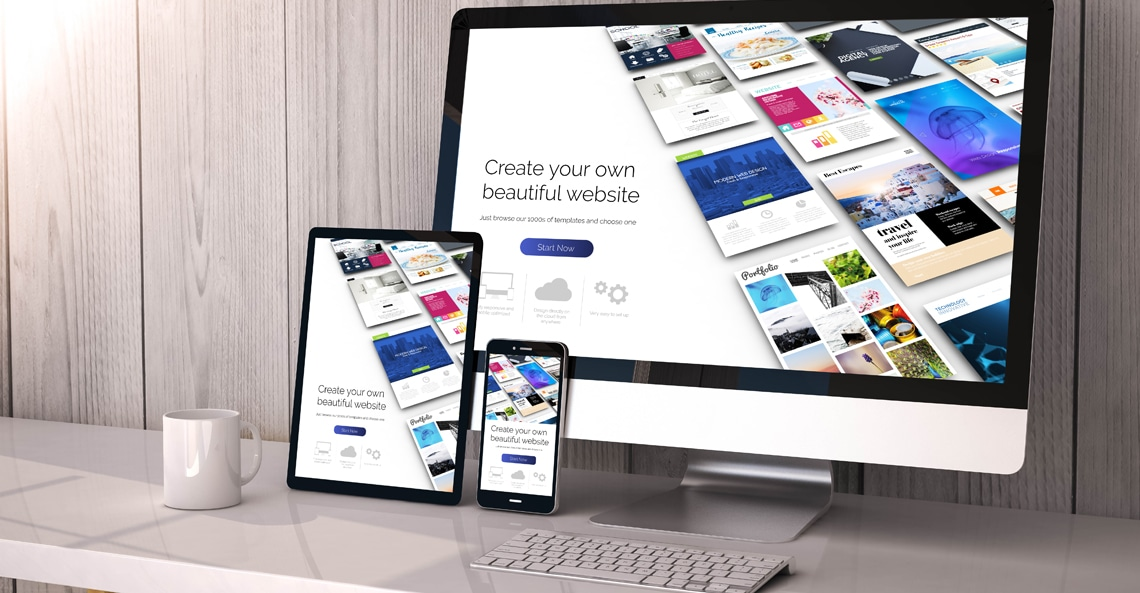 WordPress B2B Website